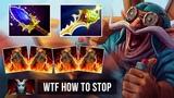 WTF UNREAL LAST PUSH Gyro Rapier + Warlock 4 Golems Comeback by iLTW Gameplay Dota 2
