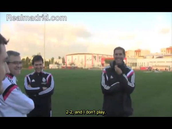 Iker Casillas offers up an impressive demonstration of his amazing memory Real Madrid CF