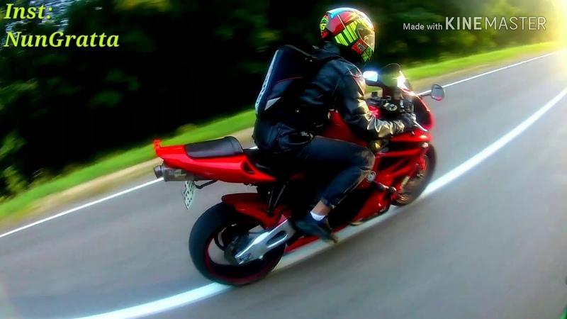 МотоПрокат 1 Мядель - Нарочь в хорошей компании на мотоцикле.