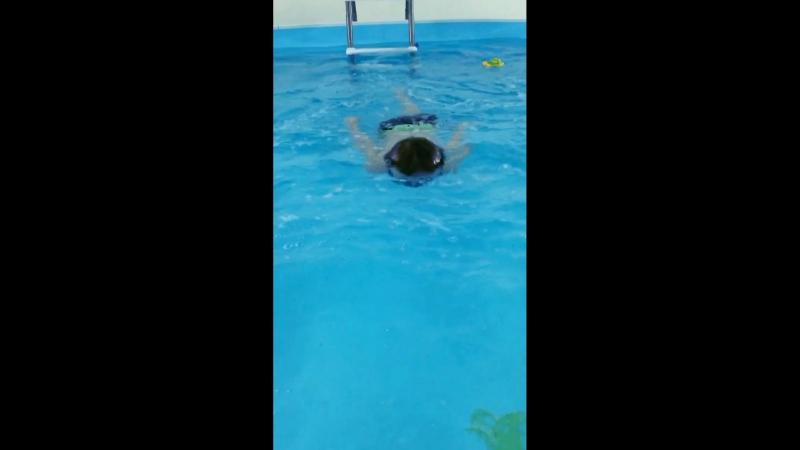 Проплываем весь бассейн 🏊♂️
