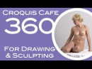 Croquis Cafe 360: Drawing & Sculpture Resource, Simone #6