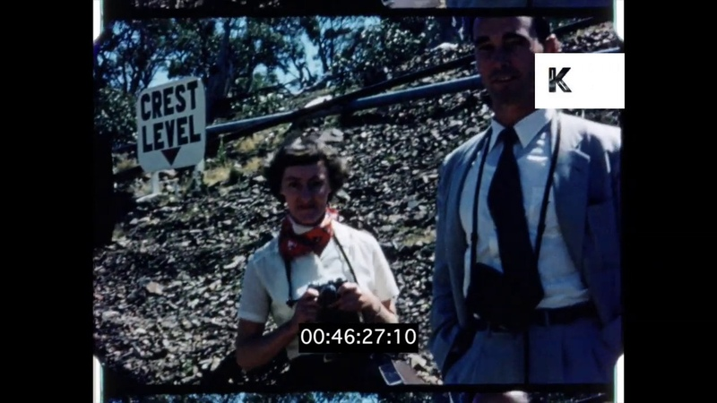 New South Wales Reservoirs Dams 1950s Australia from 16mm