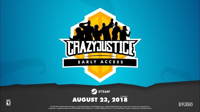 Релизный трейлер предварительной версии Crazy Justice