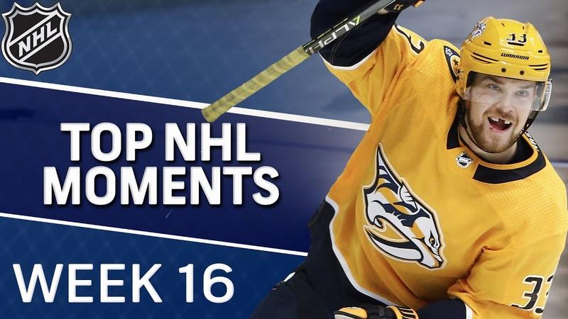 Top NHL moments of Week 16 NBC Sports