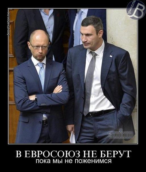 Вирус Кличко заразен: соцсети насмешила фраза Яценюка о «партнере Порошенко»