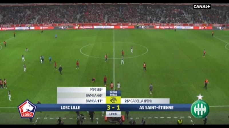 Lille vs Saint-Étienne 3-1