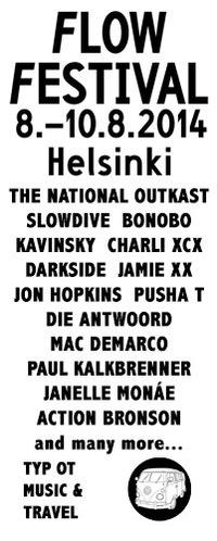 Flow Festival 2014 - Хельсинки - Music & Travel
