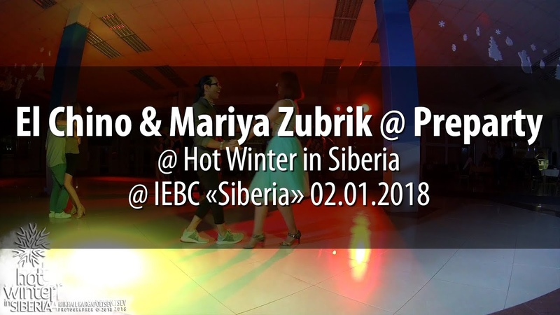 El Chino Mariya Zubrik @ Preparty @ Hot Winter in Siberia @ IEBC «Siberia» 02.01.2018