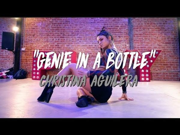"""Genie in a Bottle"" - Christina Aguilera | Nicole Kirkland Choreography"