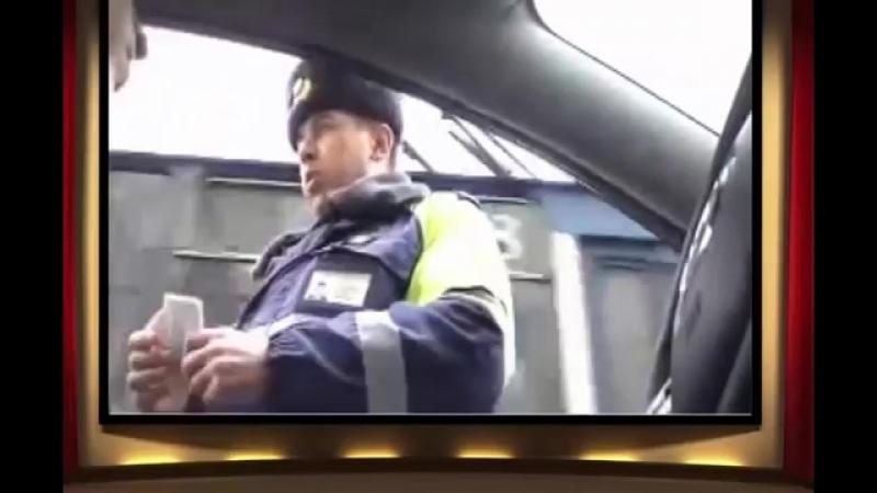 Гаишник нарвался на юриста - сплошной прикол ))