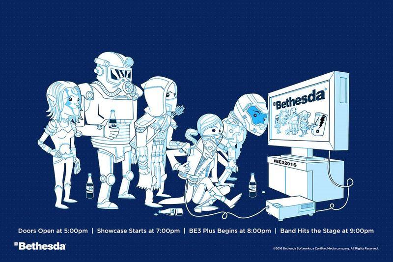 Bethesda презентация компании на E3 пройдет 12 июня в 21:00 по Москве.