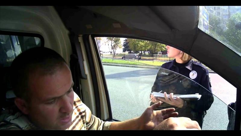 Поліція Львова.старі способи роботи залякування