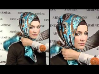 Esarp Baglama Sekilleri 2 - Armine Esarp / Turkish Hijab Tutorial [ 1