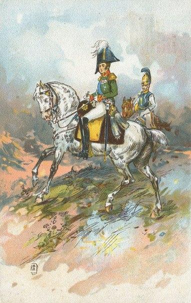 Война 1812 года на открытках