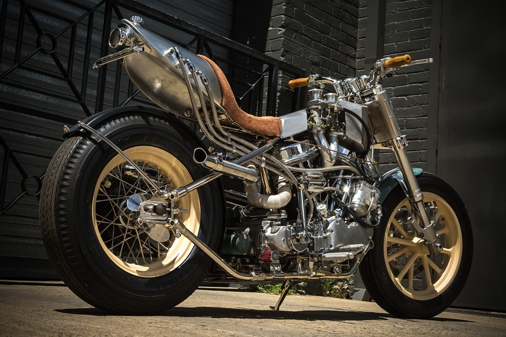 MLR Custom Coachbuilder: кастом Harley-Davidson Hot Rod
