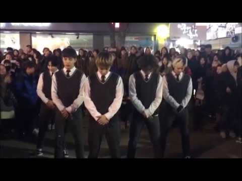 빅뱅(Bigbang) - BANG BANG BANG Good Boy Dance cover Busking in Hongdae