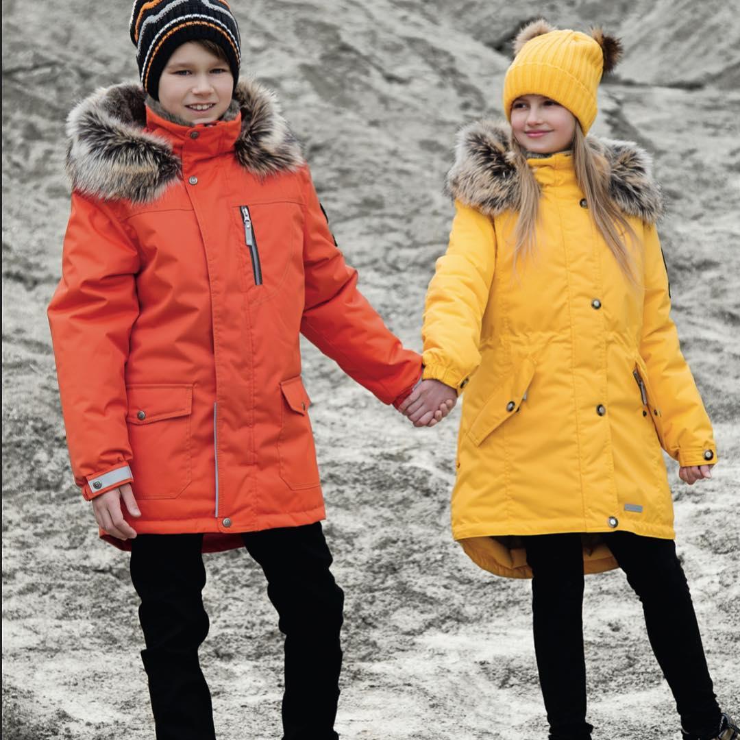 Детская одежда для зимних прогулок