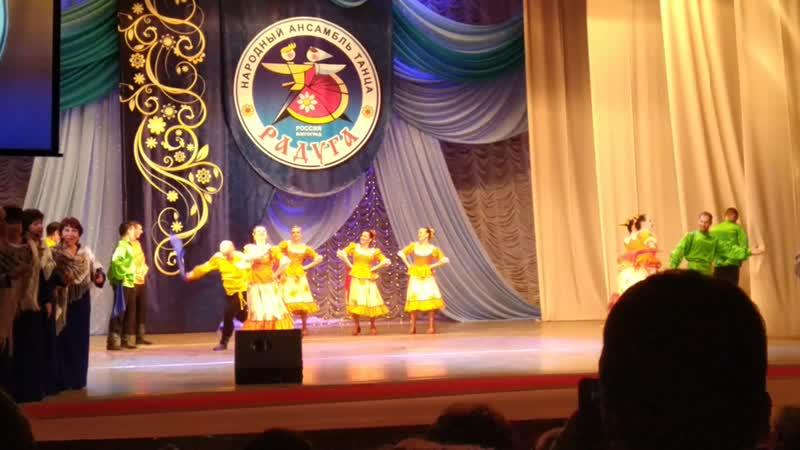Премьера танца На гулянье! Исполняет Народный ансамбль танца РАДУГА г. Волгоград.