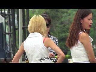 2013.08.10 속초 음악중심 리허설 대기중 2NE1