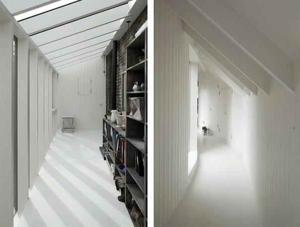 Лондонская студия 6a Architects стала автором и разработчиком проекта «Tree House», дома известного архитектурного критика Роуэна Мура (Rowan Moore).