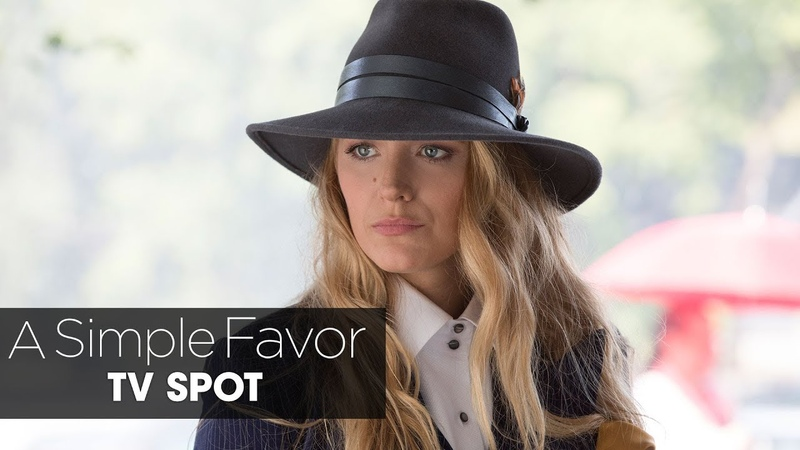 """A Simple Favor (2018 Movie) Official TV Spot """"Emily"""" – Anna Kendrick, Blake Lively"""