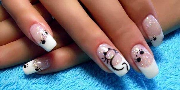 рисунки на ногтях фотогалерея: