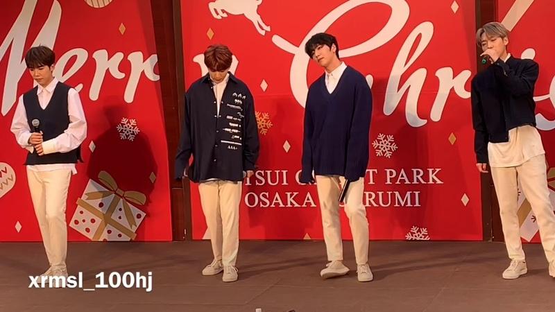 [FANCAM] 181118 백퍼센트(100%) - 돌아서지만 (Turn away) @ Osaka - Mitsui Outlet Park Osaka Tsurumi