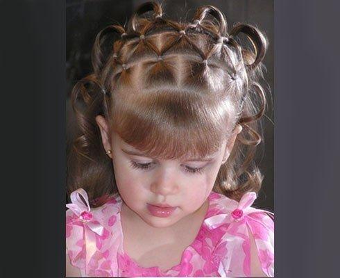 Детские прически на новый год фото короткие волосы