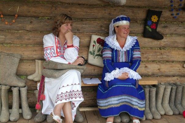 Дрибинские торжки напомнили нам о традиционной белорусской культуре. Фото Александры Перелайко.