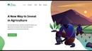 Zou - landing page (4 section / CSS3 HTML5 / Flexbox)