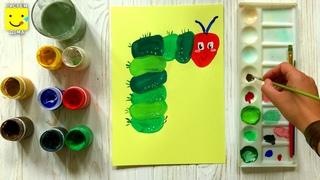 Как нарисовать букву Г? Учим алфавит рисуя.