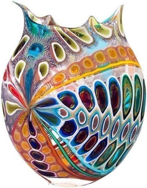Удивительное муранское стекло.Мастер - David Patchen