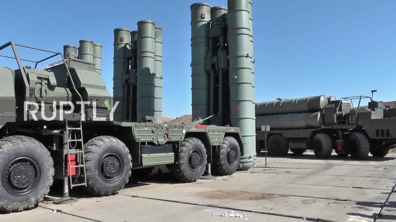 3-й дивизион ЗРС С-400 развернули в Крыму