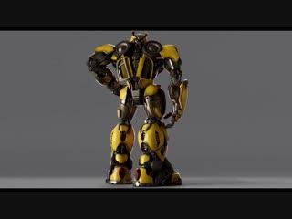 Bumblebee (2018) - Generation 1 Design - Paramount Pictures