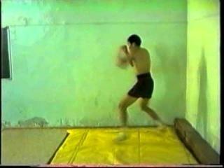 Фидель Бальжанов. Бой с тенью. Видео для рекламы матчевой встречи Улан-Удэ vs Ангарск