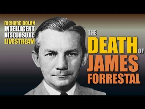 The Death of James Forrestal. Richard Dolan Intelligent Disclosure (live)