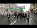 Участие Приморской Азербайджанской диаспоры Достлуг Дружба и Приморского регионального отделения АМОР в шествии