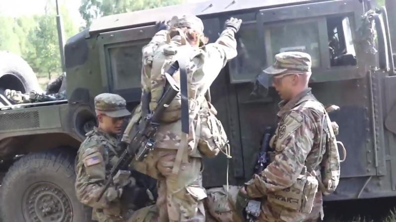 BPTA Soldiers build teamwork, earn silver spurs BEMOWO PISKIE, POLAND 18.08.2018