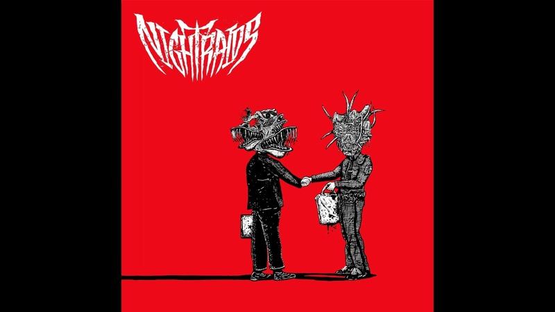 Night Raids - Servants of the Scab Lord 7 FULL EP (2017 - Grindcore / Thrash Metal / Crust)