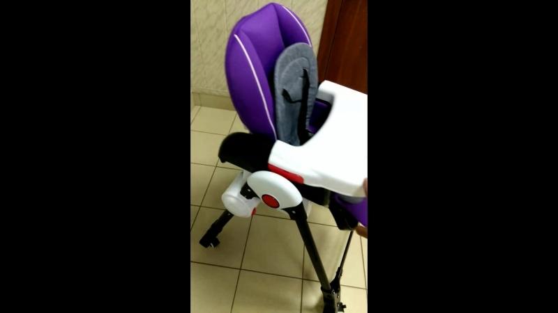 стульчик для кормления качалка