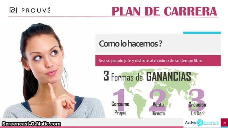 PROUVE Plan de pagos