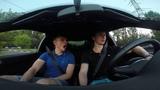 Audi S3 8L 1.8T Big-Turbo Прокатил друга №2 УГАР!!))))) (Александр Боришевич)