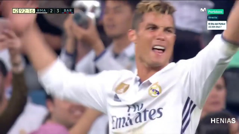 Real Madrid vs Barcelona 2 3 All Goals and Full Highlights English Commentary 23 04 2017 HD 1