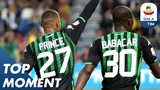 Boateng Scores from Back-heel Babacar Assist! | Sassuolo 5-3 Genoa | Top Moment | Serie A