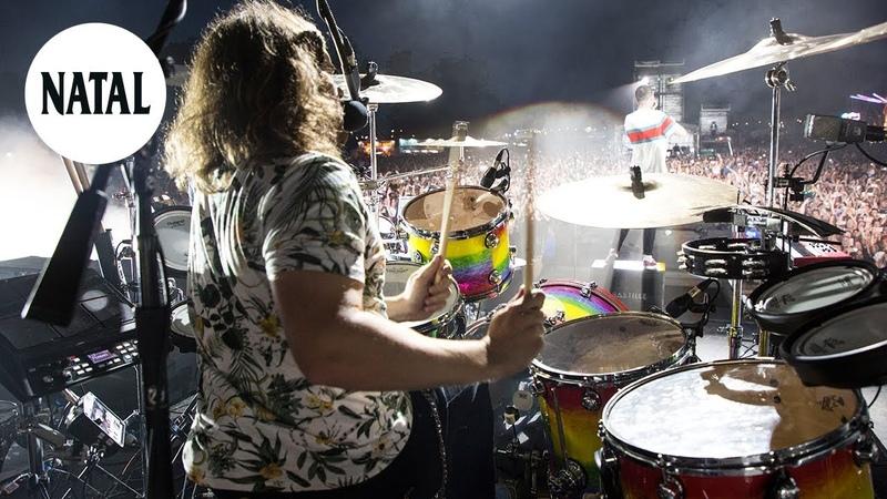 Artist Spotlight Chris 'Woody Wood of Bastille Natal Drums