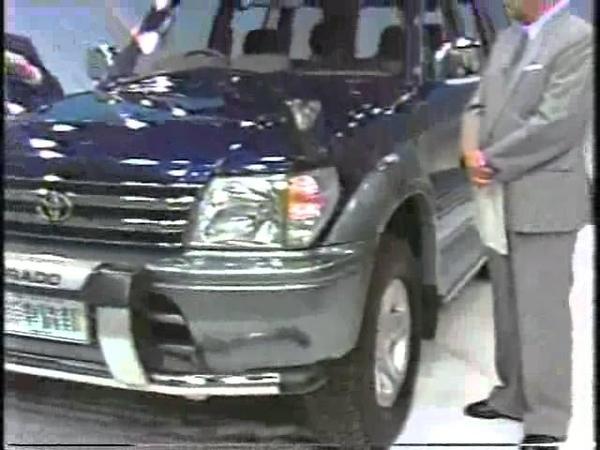 新車情報'96 トヨタ ランドクルーザー プラド
