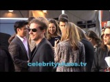 Emily VanCamp and Chloe Bennet arrive to Captain America and greet fans