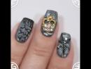 Дизайн ногтей на Хэллоуин Halloween