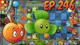 Plants vs. Zombies 2 E.M.Peach, Blover, Citron and Laser Bean - Far Future Day 11 (Ep.246)