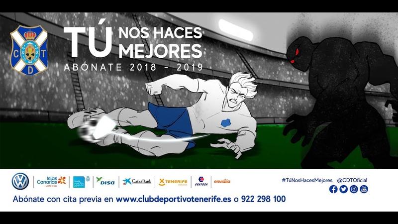 TúNosHacesMejores Campaña de abonos CD Tenerife 1819